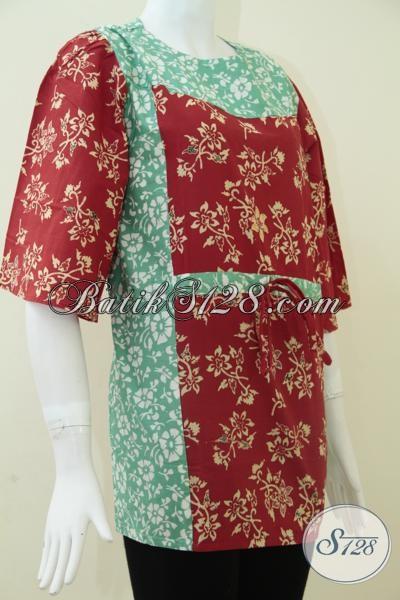Batik Kerja Wanita Karir,Batik Kantor Wanita Elegan [BLS866C-L]
