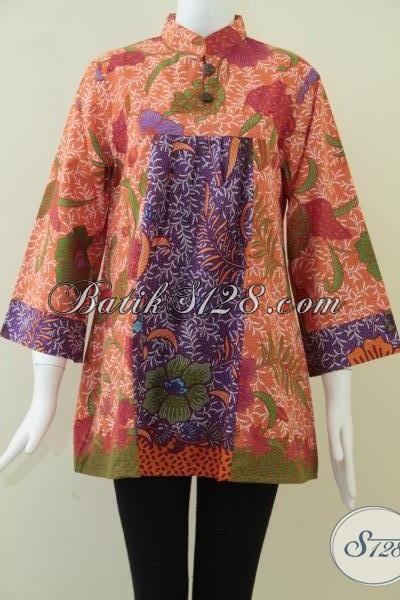 Model Baju BAtik Wanita Gemuk f5bc95db94