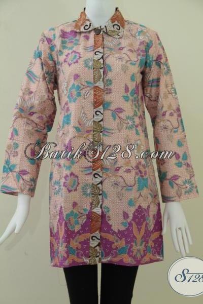 Baju Batik Online Murah Aneka Model [BLS900P-M]