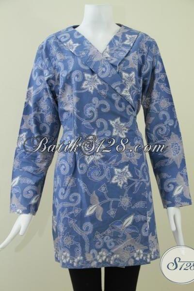 Batik Wanita Model Kimono Batik Wanita Lengan Panjang Bls927bt L