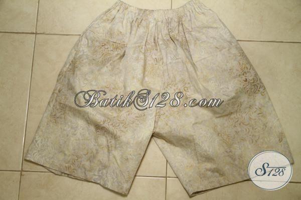 Batik Celana Pendek Untuk Pria Muda Dan Dewasa, Pakaian Batik Trendy Untuk Santai Di Rumah [CD3140CS]
