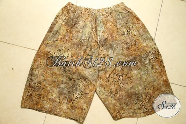 Toko Pakaian Batik Online Sedia Celana Batik Pendek Prose Cap Smoke, Pakaian Batik Santai Cocok Untuk Di rumah
