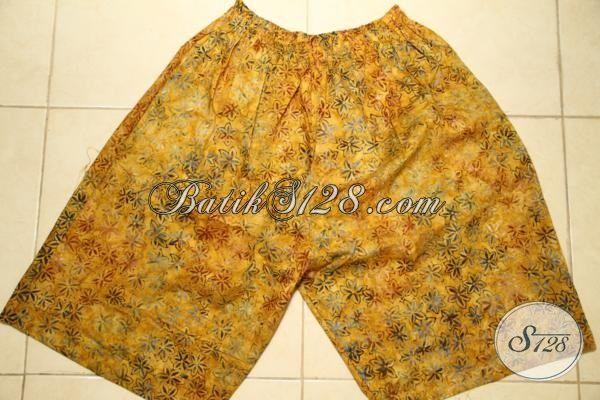 Grosir Eceran Aneka Celana Pendek Motif Batik Terbaru, Celana Pendek Pria Motif Bagus Berbahan Halus Harga Murah [CD3144CS]