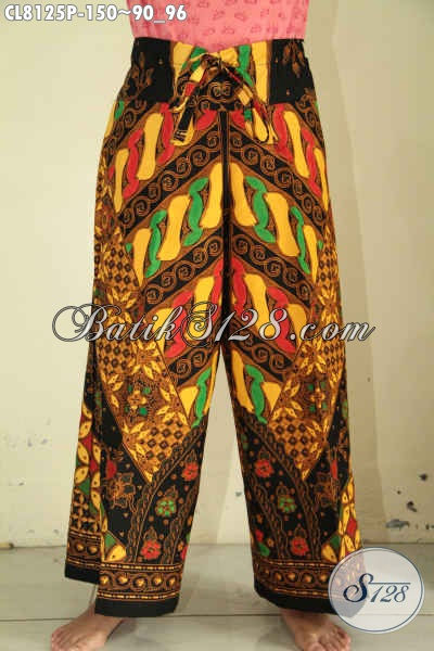 Model Celana Kulot Batik Untuk Cewek, Hadir Dengan Motif Klasik Nan Elegan Proses Printing Harga 150K