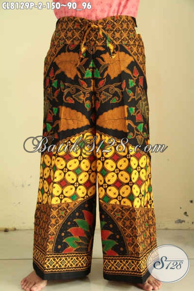 Model Celana Kulot Batik Solo, Busana Bawahan Batik Untuk Wanita Muda Dan Dewasa Harga 150 Ribu