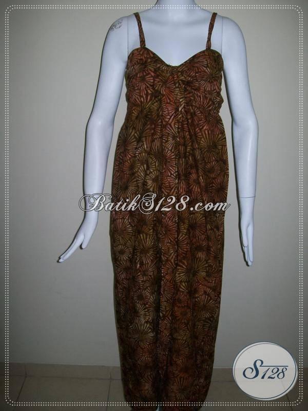 Dress BAtik Pesta Untuk Wanita Trendy Dan Modern [DR007]