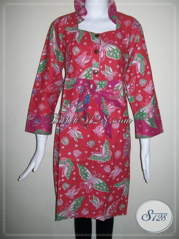 Dress Wanita Batik Online Harga Murah [DR024P]