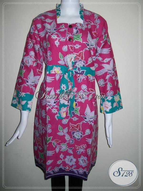 Model Dress Batik Untuk Pesta