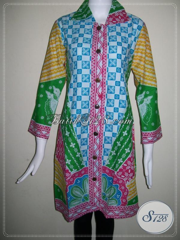 Baju Batik Wanita Model Dan Motif Terbaru Batik Wanita