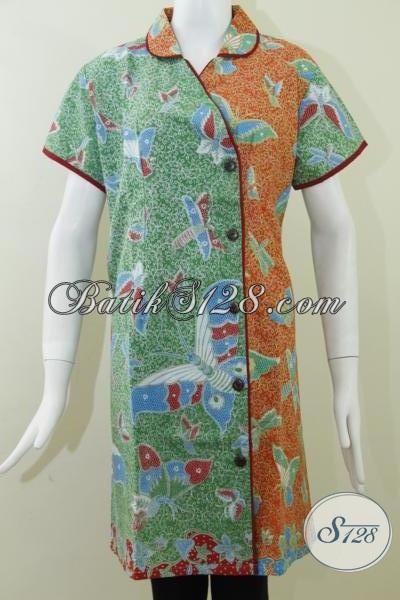Dress BAtik Online Asli Produk Kota Batik Solo [DR060P]
