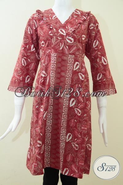 Batik Wanita Asli Solo,Toko Batik Murah Berkwalitas Di Jawa [DR1150CT-XL]
