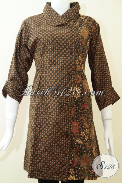 Pakain Batik Klasik Untuk Perempuan Istimewa, Baju Batik Motif Lawasan Mewah Dan Elegan, Size M