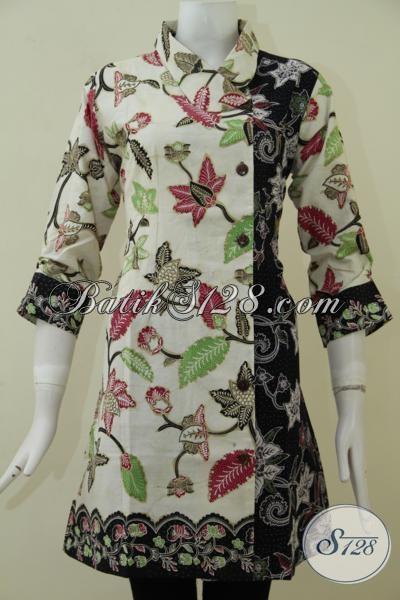 Busana Batik Perempuan Terbaru, Dress Batik Trendy Dan Cantik Membuat Penampilan Wanita Muda Masa Kini Semakin Keren [BLS1760BT-M]