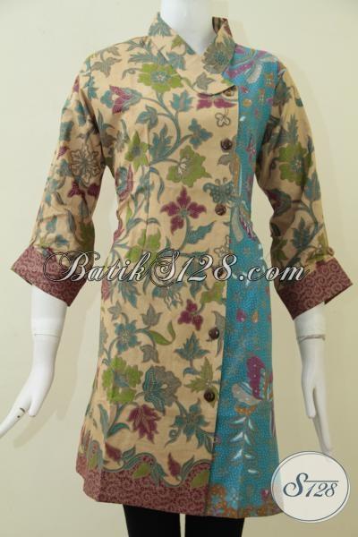 Dress Batik Print Lasem Dengan Kwalitas Lebih Bagus Halus