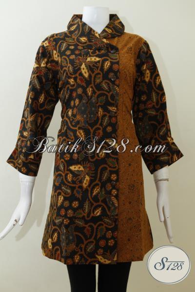 Trend Dress Batik 2015 Desain Rapi Dan Mewah Baju Batik Wanita