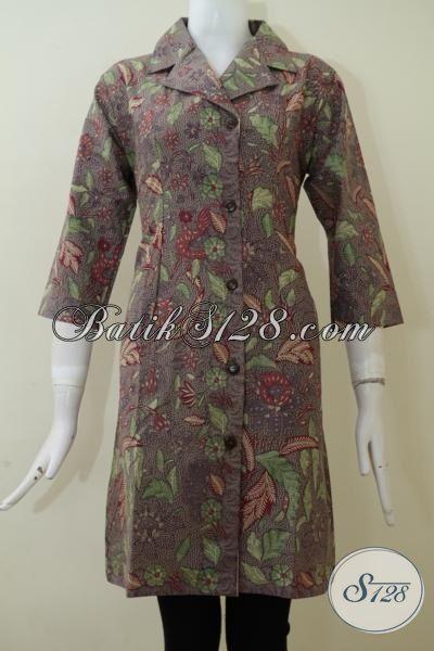 Aneka Dress Batik Desain Terbaru Yang Lebih Mewah Dan