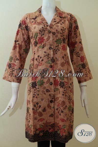 Toko Batik Jual Baju Dress Wanita Elegan Berkelas Untuk Kondangan [DR2331BT-XL]