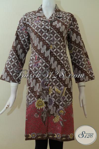 Toko Baju Dress Batik Wanita Berbadan Besar Gemuk Xxl