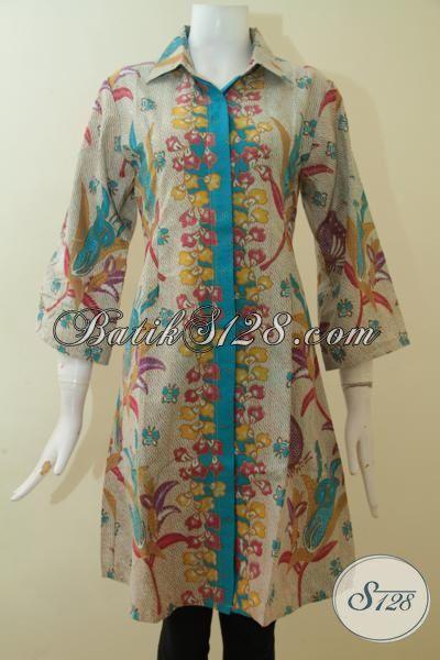 Dress Batik Keren Trend Mode 2015 Baju Batik Wanita Muda Dan