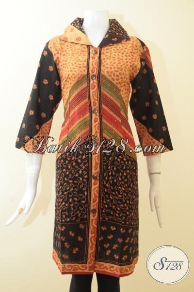 Pakaian Batik Wanita Dewasa Motif Klasik Sentuhan Modern