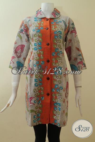 Dress Batik Keren Gaul Bagi Wanita Yang Aware Akan Penampilannya [DR2854P-S]