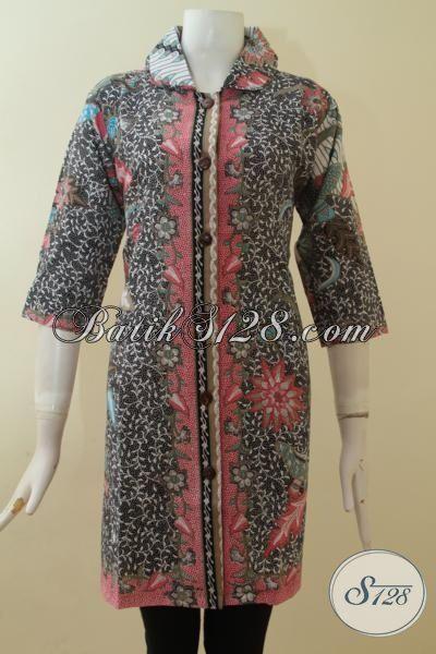Batik Gaul Wanita Dress Model Terbaru Masa Kini Asli Batik Solo