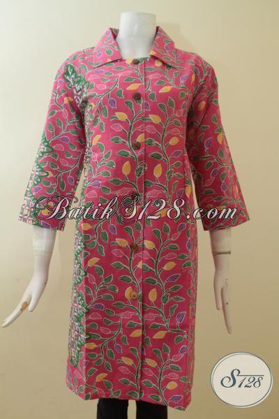 Pedagang Baju Batik Online Murah Kwalitas Mewah, Batik Dress Masa Kini Membuat Wanita Lebih Cantik Maksimal, Size XL