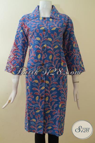 Dress Cantik Online Shop Batik Wanita Warna Hijau [DR2881P-XL]