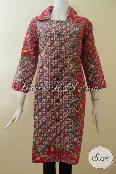 Dress Batik Unik Model Bagus, Keren, Mantap [DR2885P-XXL]
