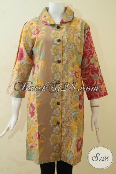 Baju Batik Modern Kwalitas Bagus Busana Batik Dress