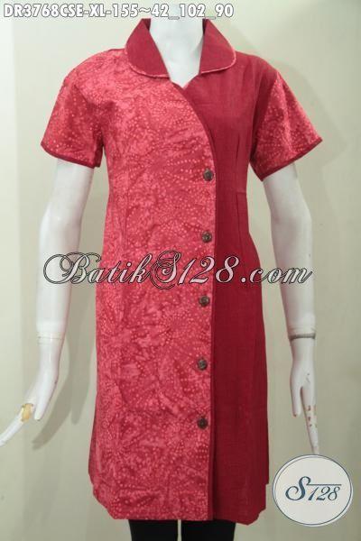 Baju Batik Cap Smoke Halus Katun Dan Embos  Model Baju Batik