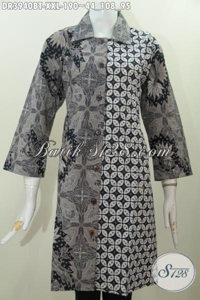 Jual Pakaian Batik Jawa Etnik Modis Ukuran XXL, Produk Baju Batik Jumbo Istimewa Kwalitas Premium Bikin Wanita Gemuk Tambah Cantik Maksimal