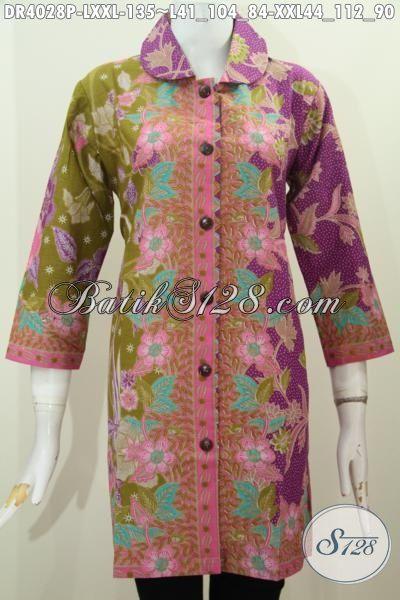 Baju Lb 2015 Jual Produk Dress Batik Model Terbaru 2015