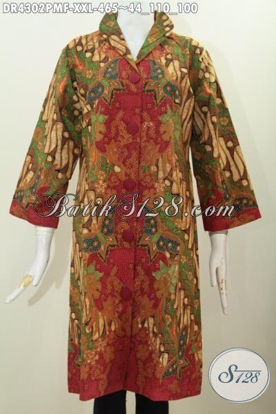 Baju Batik Klasik Jumbo Desain Mewah Dan Elegan Busana