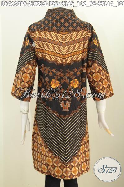 Aneka Baju Batik Untuk Wanita Dewasa, Hadir Dengan Desain Motif Klasik Nan Mewah Sinaran Berbahan Halus Proses Printing Di Jual Online Harga 100 Ribuan, Size XL – XXL