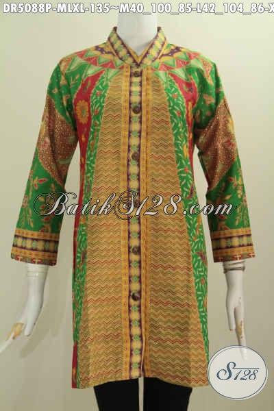 Jual Aneka Baju Batik Wanita Muda Dan Dewasa, Blus Batik Kerha Shanghai Nan Istimewa Motif Klasik Untuk Tampil Lebih Berkelas, Size M – L – XL