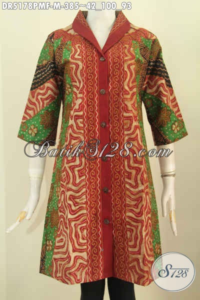 Dress Batik Milo, Dress Batik Sinaran