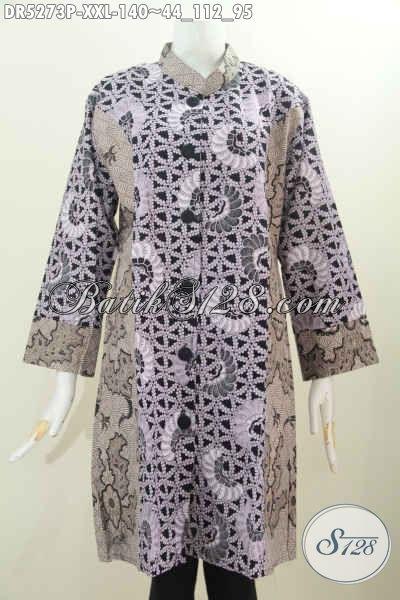 Jual Baju Dress Batik Masa Kini Yang Bikin Wanita Gemuk Lebih Trendy