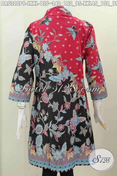 Baju Batik Kerja Wanita Dewasa Baju Batik Model Dress