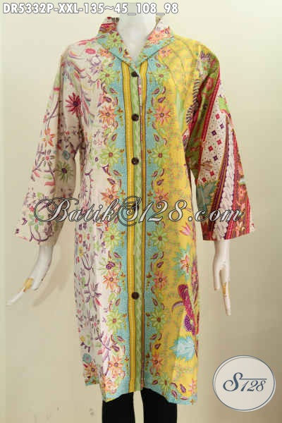 Sedia Baju Batik Istimewa Untuk Wanita Gemuk Harga Murmer