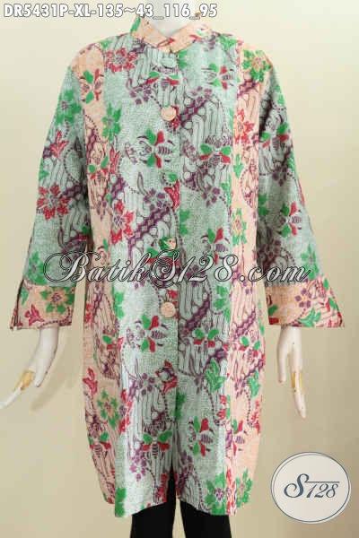 Baju Batik Yang Bikin Penampilan Lebih Gaya Dress Batik
