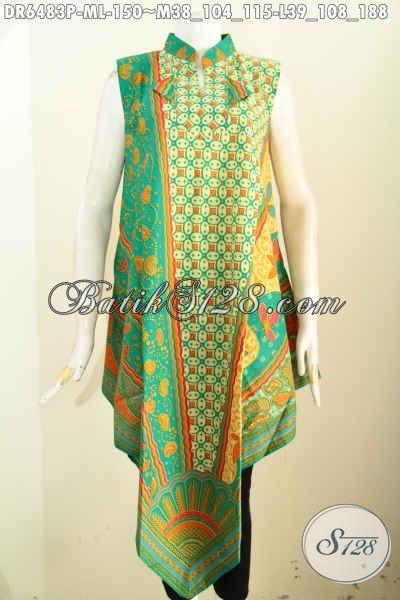 Dress Cantik Dan Anggun Model Baju Terusan Tanpa Lengan