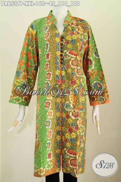 Koleksi Dress Batik Buat Busana Kerja Wanita Modern 969c79f27c
