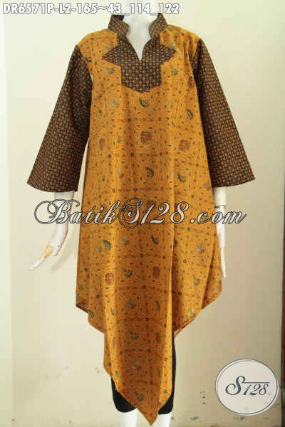 Model dress baju batik atasan wanita trendy kekinian