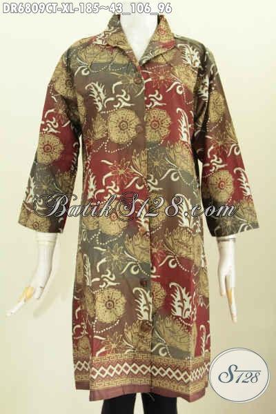 Baju Batik Wanita Dewasa Motif Mewah Cap Tulis Baju Batik