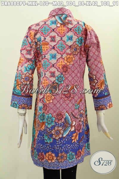... Jual Online Baju Batik Kerja Wanita Bahan Batik d2cef4dc0c