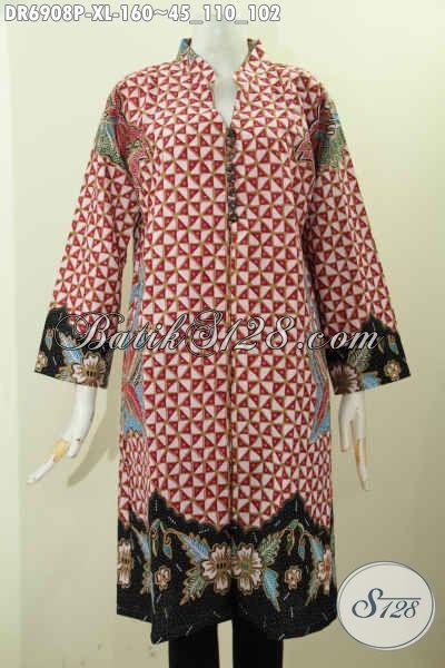 Foto Desain Baju Batik Wanita Terbaru, Model Baju Batik ...
