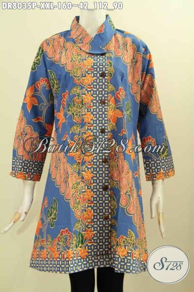 Model Baju Batik Dress Solo Jawa Tengah, Pusat Baju Batik Online Koleksi Selalu Baru Update Setiap Hari