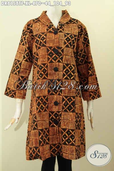 Model Baju Batik Terusan Motif Klasik Dress Batik Tulis Premium