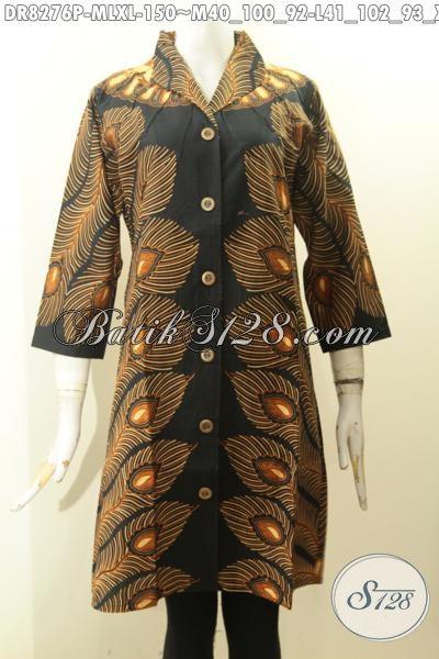 Aneka Baju Batik Krah Langsung Motif Klasik Bahan Adem Kwalitas Istimewa, Produk Pakaian Batik Masa Kini Yang Bikin Penampilan Cantik Dan Berkelas Hanya Dengan 150 Ribu, Size M – L – XL